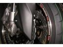 """Proužky na ráfky RACING REFLECTIVE velikost 16""""/16,5""""/17"""" RED PERFORMANCE"""